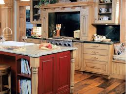 Yellow And Red Kitchen Kitchen Astonishing Country Red Kitchen Cabinets Amazing Country