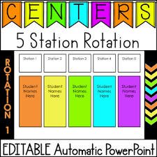 Chart Rotation Editable Center Rotation Powerpoint Chart