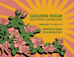 <b>Spring Flower</b> Show: Golden Hour - Garfield Park Conservatory