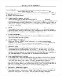 Rental Agreement Letter Rent Contract Renting – Otograf Site