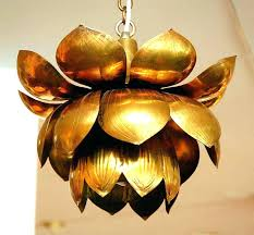 lotus pendant light pendant lamp