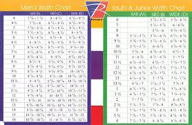 Ccm Skate Width Chart 57 Timeless Graf Sizing Chart