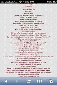 This Is One Of My Favorite Wrestling Mom Quote Because This Poem Is Impressive Wr Part My Son Quotes