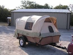 truck tent on cargo trailer