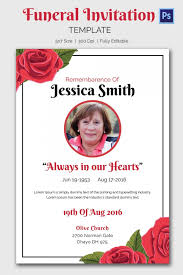 Memorial Service Invitation Wording Interesting Memorial Service Funeral Invitation Card Perfect Ideas Wording Cards