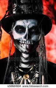 voodoo skeleton man picture k50684604