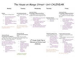best of house mango street unit plan pdf lesson plans middle school the house on mango