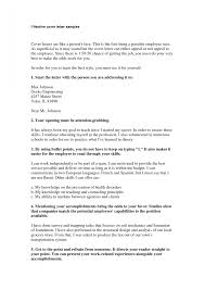 Good Cover Letter Cv Resume Templates Examples Within Successful