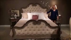 arabella upholstered bed by pulaski furniture home gallery s you