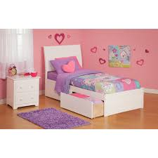 Portland Bedroom Furniture Urban Lifestyle Newport Bookcase Platform Bed Beds At Hayneedle