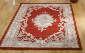 hand tufted chinese aubusson wool rug