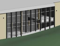 revitcity com curved sloping curtain walls