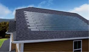 a view of dow powerhouse solar roof shingles panel f39