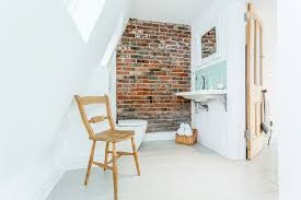 cover brick wall with wood. Unique Cover Itu0027s A Good Practice To Cover Bricks With Waterbased Sealant In Bathroom Throughout Cover Brick Wall With Wood I