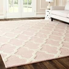 bedroom white soft rug gray tufted bed headboard cerulean blue wallpaint dark brown panel ring