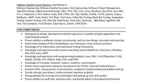 Software Testing Report Template And Qtp Test Engineer Sample Resume