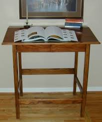 stand up desk wood. Delighful Stand This Standup Desk Is 4 Feet Wide 30 Inches Deep 43 High At The  Front Sloping To 47 Back The Exact Dimensions Should Be  Intended Stand Up Desk Wood