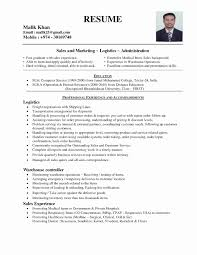 School Administrator Resume Template Beautiful Night Fill Resume