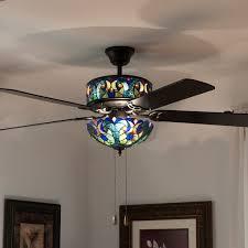 tiffany style ceiling fans with lights unbelievable trendy design ideas elegant fan pixball com interior 1