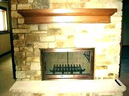 small glass fireplace pleasant hearth