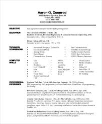 Software Engineer Resume Examples Unique 40 Engineering Resume Examples Free Premium Templates