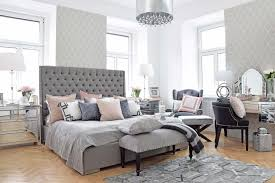High Quality Master Bedroom Schlafzimmer In Grau And Rosa Looks