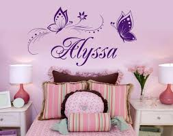 erfly wall stickers for kids room decor personalized custom name wall decals wall stickers wall decals erfly with 13 03 piece on onlybrand s