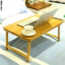 desk computer desks office home bed furniture bamboo laptop desk 604030 cm portable laptop desk