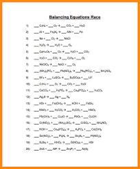 chemfiesta balancing equations worksheet