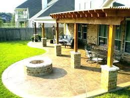 patio landscaping ideas backyard concrete patio ideas concrete patio design ideas patio design back yard patio