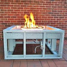 propane fire pit ring kit diy propane fire pit kit complete deluxe do it yourself double propane fire pit