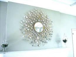 metal starburst wall art decor sunburst tripar s