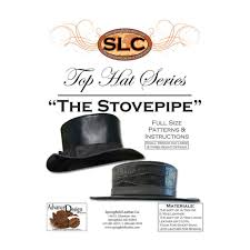 springfield leather company the stovepipe top hat pattern for