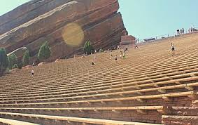 Red Rocks Amp Seating Chart Red Rocks Amphitheatre Wikipedia