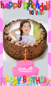 Name Photo On Birthday Cake Candy Frame Filter For Android Apk