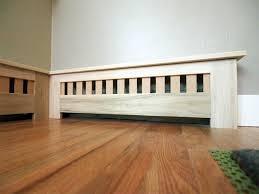 build building wood baseboard radiator covers diy wood craft
