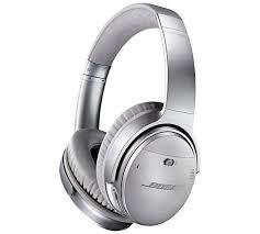 bose on ear wireless headphones. bose quietcomfort 35 over - ear wireless headphones silver on