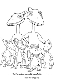 15 Dinosaur Train Coloring Pages Other Ideas For Goodie Bag