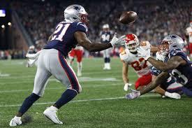 Patriots vs Chiefs: Duron Harmon interception closes out the half,  preserves New England's 15-point lead - Pats Pulpit