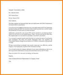 termination letter template 6 termination of employment letter example g unitrecors