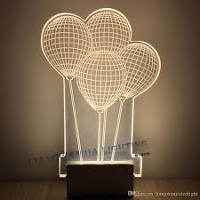 Led Wall Lamps Bedroom 2017 6x2015 Creative Led Indoor Lights Balloon Shaped Acrylic Led