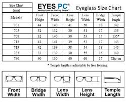 Reading Glasses Size Chart Blue Light Blocking Eyewear Collections Control Business