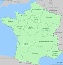 france regions map by provence beyond