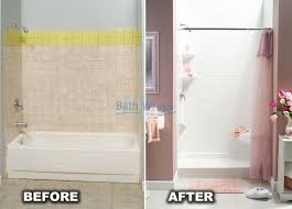 remove bathtub replace with walk in shower ideas