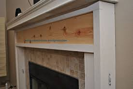 image of how to build a stone fireplace surround