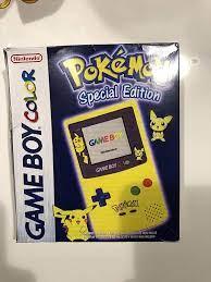 Game Boy Color Konsole, Pikachugelb: Amazon.de: Games