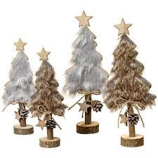 Deko Weihnachtsbaum Rika 30 Cm 2fach Sortiert