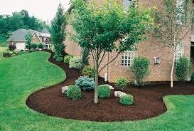 mulch garden ideas make beautiful gardens and plants thrive brown mulch in flower beds around a beautiful home garden 4evergreenlawnservice com