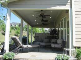 A Charlotte covered porch addition full of southern charm