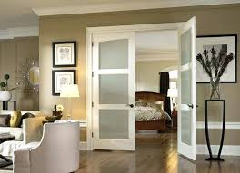 captivating modern french closet doors and sliding for closets classic lite opaque glass frosted home french doors